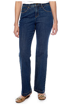 Jones New York Sport Petite Straight-Leg Jean