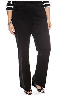 Jones New York Sport Plus Size Twill Pant