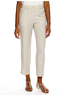 Jones New York Sport Linen Crop Pant