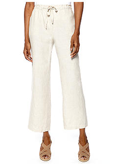 Jones New York Sport Petite Crop Pant With Drawstring Waist