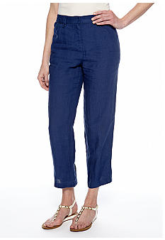 Jones New York Sport Linen Crop Pants