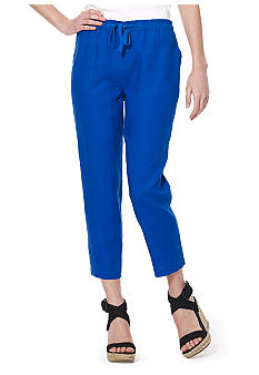 Jones New York Sport Crop Linen Pant