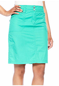 Jones New York Collection Petite Cargo Skirt