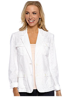 Jones New York Sport All Over Lace Jacket
