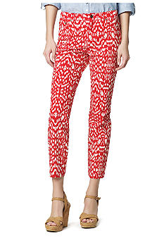 Jones New York Sport Petite Printed Crop Jeans