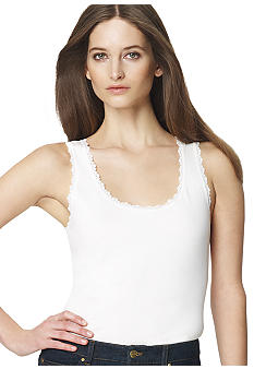Jones New York Sport Petite Lace Tank