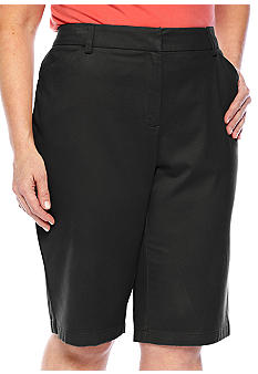Jones New York Sport Plus Size Classic Bermuda