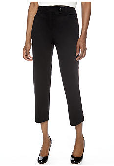 Jones New York Sport Petite Crop Pant with Extend Tab