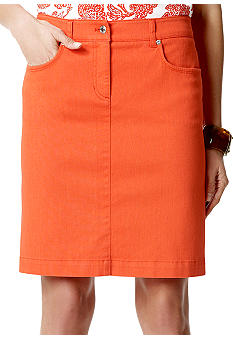 Jones New York Sport Slim Fit Skirt