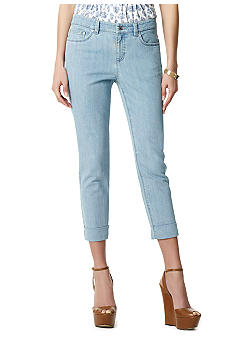 Jones New York Sport Light Wash Crop Jean
