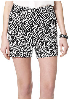 Jones New York Sport Animal Print Short
