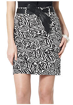 Jones New York Sport Animal Print Skirt