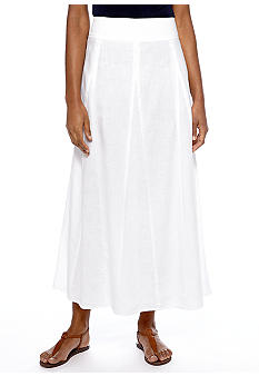 Jones New York Sport Linen Maxi Skirt