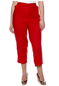 Jones New York Sport Plus Size Crop Pant