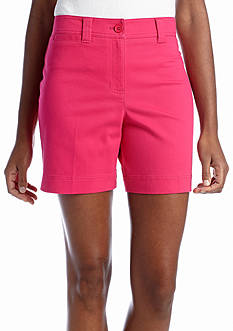 Jones New York Sport Cuff Tab Short