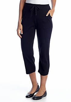 Jones New York Sport Drawstring Capri Pant