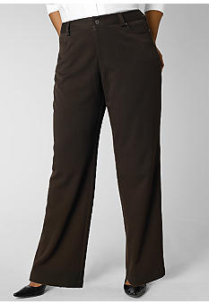 Rafaella Form + Function Plus Size 5 Pocket Pant