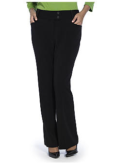 Rafaella Form + Function Plus Size Curvy Fit Pant