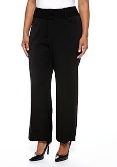 Rafaella Plus Size Curvy Pant Short Inseam