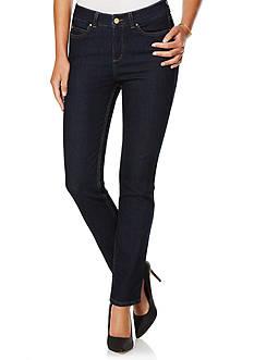 Rafaella Denim with Benefits™ Petite Size Dark Denim Jean