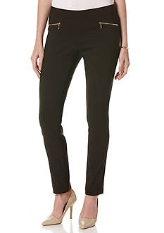 Rafaella Plus Size Power Stretch Classic Slim Pant