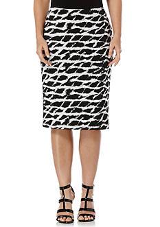 Rafaella Petite Printed Tube Skirt