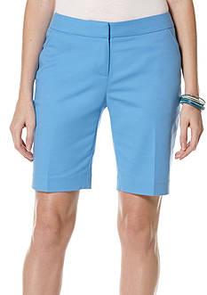 Rafaella Petite Curvy Bermuda Shorts