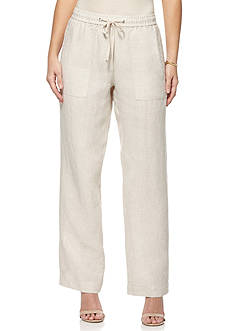 Rafaella Petite Linen Pants