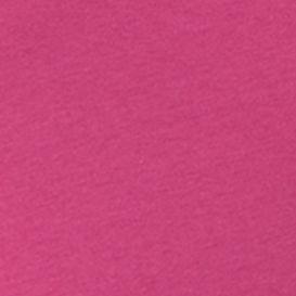 Petite Tee: Bright Magenta Rafaella Petite Solid Mock Neck Top