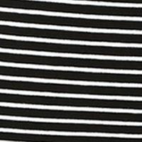 Petite Tops: Black Rafaella Petite Mini Stripe Tee