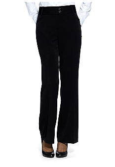 Rafaella Form + Function Curvy Fit Dress Pant
