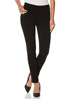 Rafaella Solid Power Stretch Pants