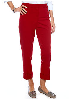Rafaella Form + Function Pant - Seasonless Cuffed Ankle