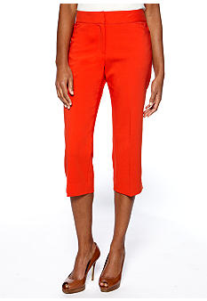 Rafaella Form + Function Double-weave Ankle Pant