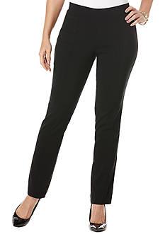 Rafaella Solid Stretch Pant