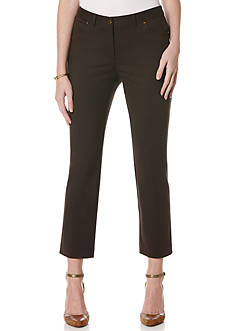 Rafaella Classic Slim Fit Ankle Pants
