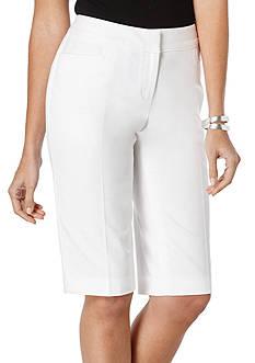 Rafaella Curvy Fit Skimmer Shorts