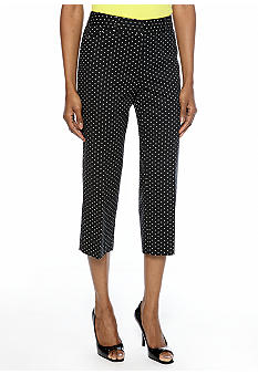 Rafaella Form + Function Classic Fit Mini Dot Capri