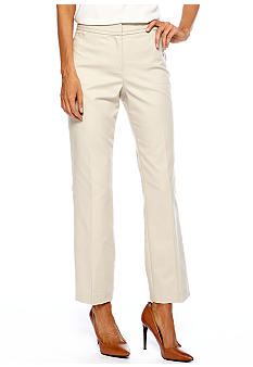 Rafaella Form + Function Double Weave Straight Leg Pant