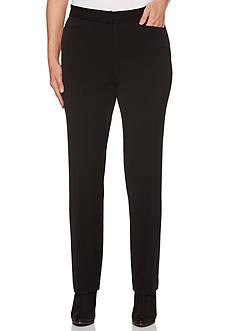 Rafaella 2Way Gab Curvy Fit Pants