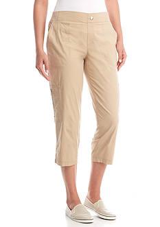 Shorts & Capris: Womens Tan/khaki Capris & Skimmers | Belk