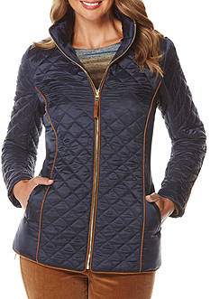 Rafaella Solid Puffer Coat