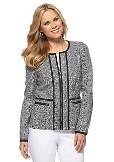 Rafaella Leopard Print Jacket