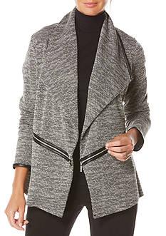 Rafaella Tweed Open Jacket