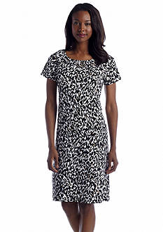 Rafaella Animal Print Dress