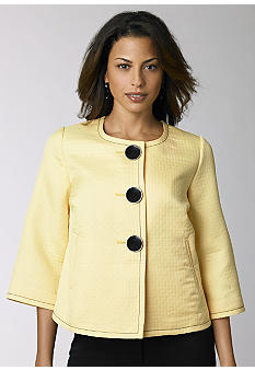 Kim Rogers Signature® Quilted Swing Jacket - Belk.com