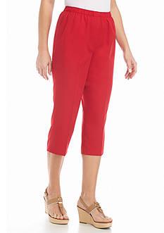 Kim Rogers Microfiber Capri Fashion Pants