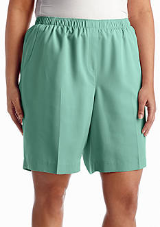 Kim Rogers Microfiber Fashion Shorts
