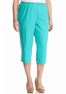 Kim Rogers Plus Size Micro Fashion Capris
