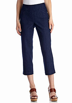 Kim Rogers Diamond Cropped Jean Pants